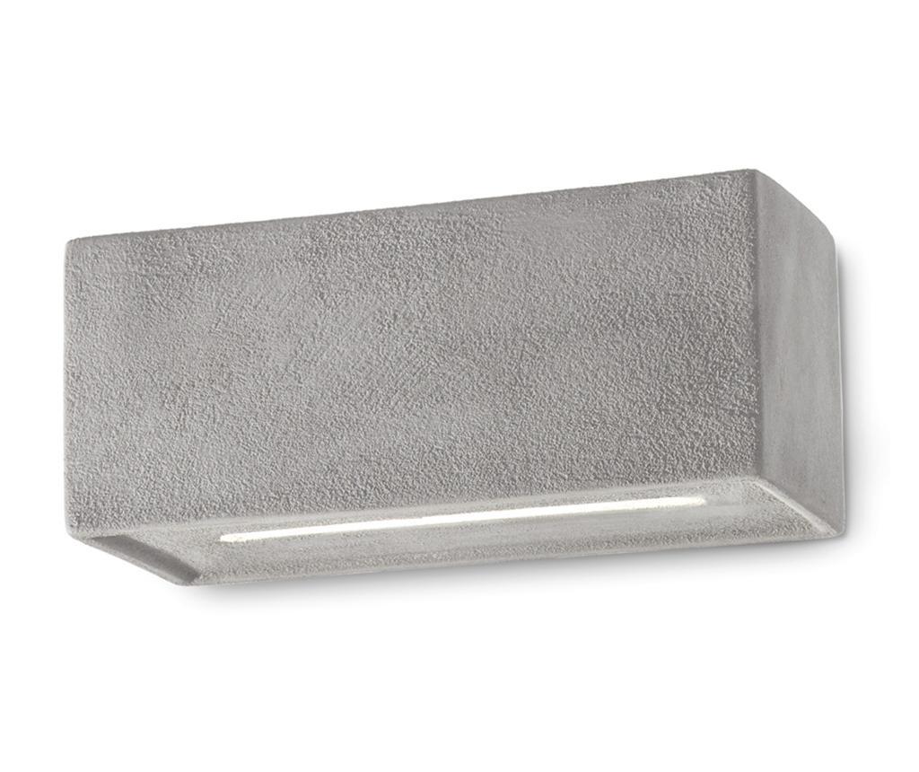 Aplica de perete Vague Vintage Cement - Ferroluce RETRò, Gri & Argintiu imagine
