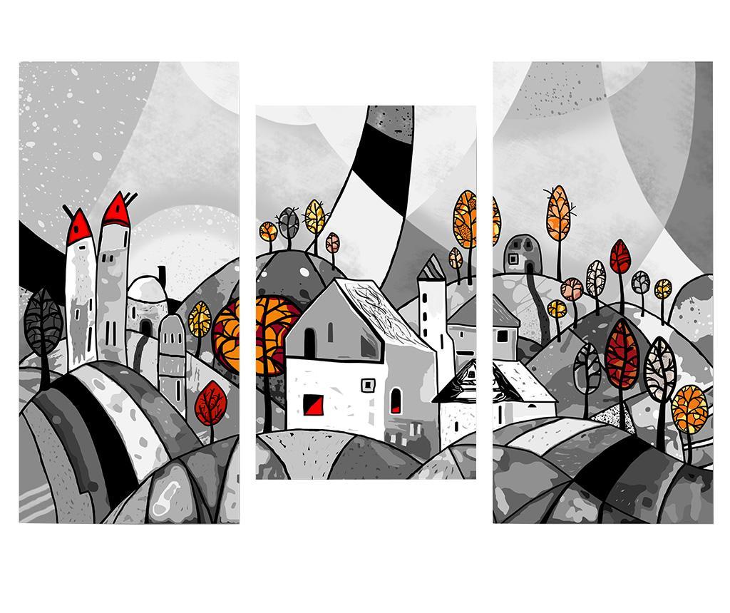 Set 3 tablouri Landscape vivre.ro
