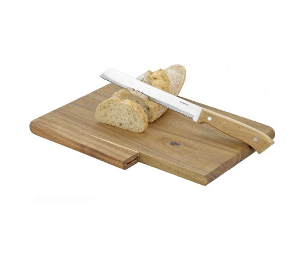 Set tocator si cutit pentru paine Jack imagine