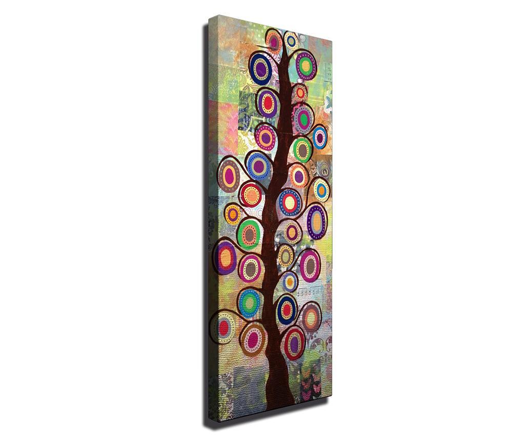 Tablou Magic Tree 30x80 cm - Symphony, Multicolor imagine