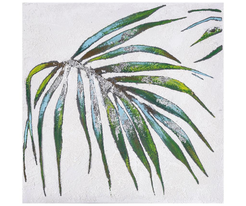 Tablou Palm Leaf 30x30 cm imagine