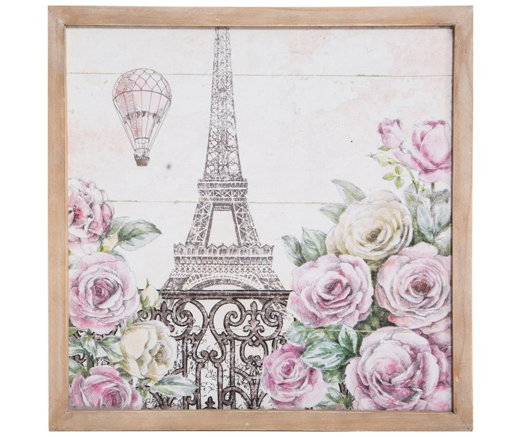 Tablou Paris Delight 43x43 cm - Eurofirany, Roz vivre.ro