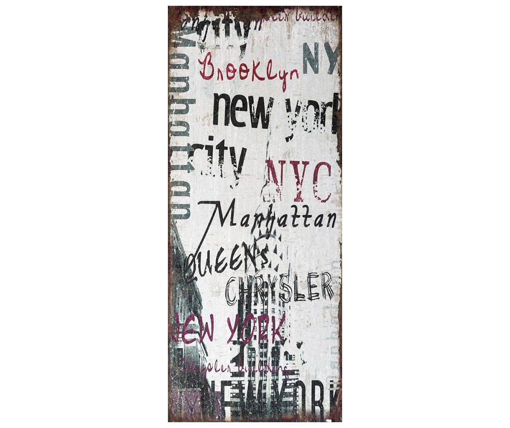 Obraz New York 30x70 cm