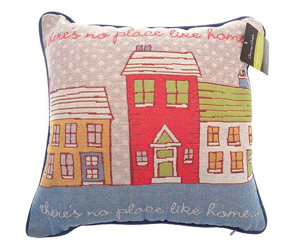Perna decorativa Place Like Home 43x43 cm