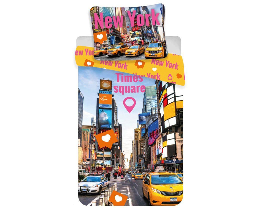 Set de pat Single Ranforce Times Square imagine