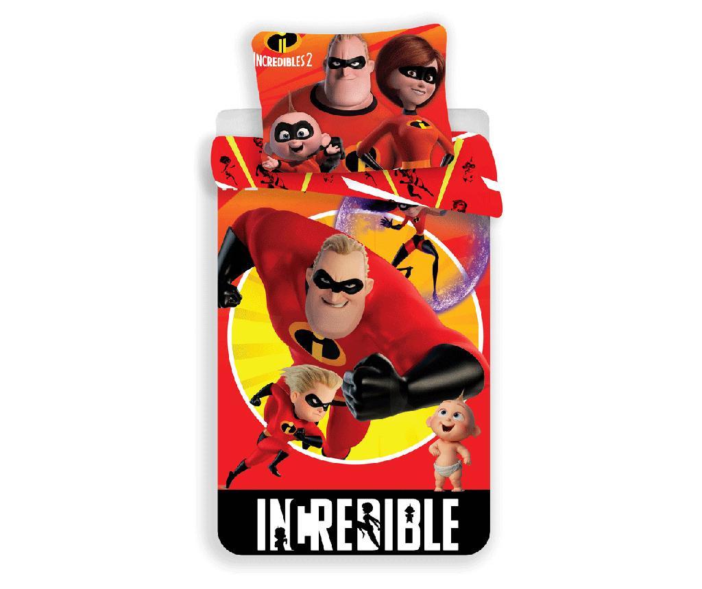 Set de pat Single Ranforce The Incredibles by Disney imagine
