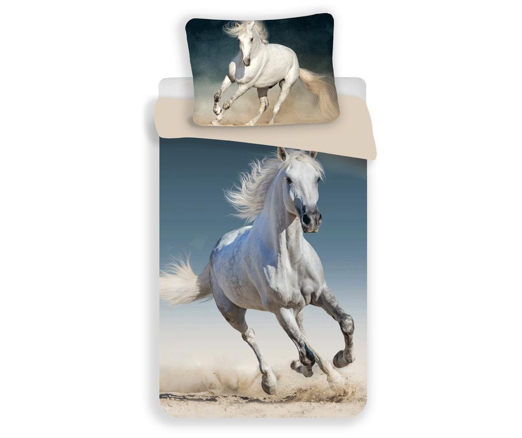 Set de pat Single Ranforce Horse imagine