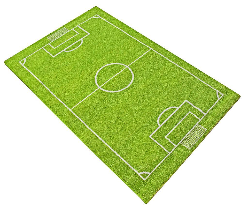 Covor de joaca Soccer Field 3D 80x150 cm imagine