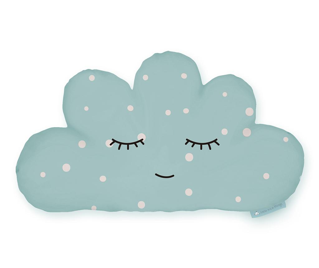 Perna decorativa Blue Cloud 21x42 cm