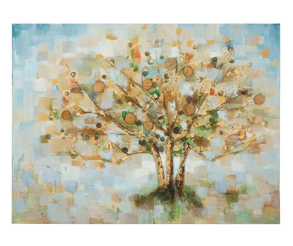 Tablou Eloise Tree 3D 90x120 cm vivre.ro
