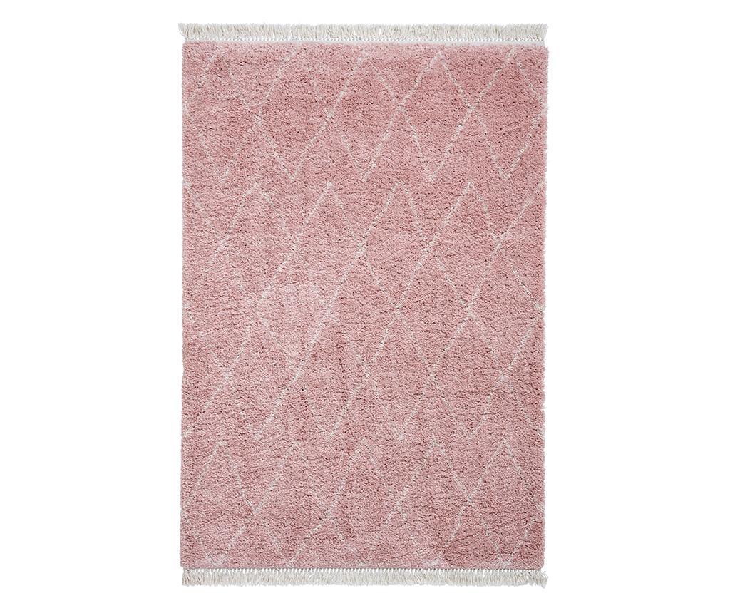 Covor Boho Diamond Rose 120x170 cm - Think Rugs, Roz imagine