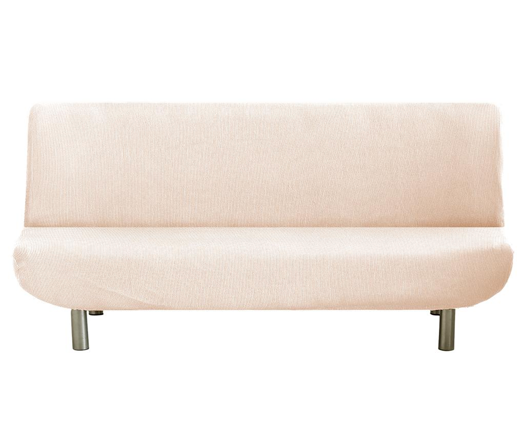 Husa elastica pentru sofa Ulises Clik Clak Ecru vivre.ro