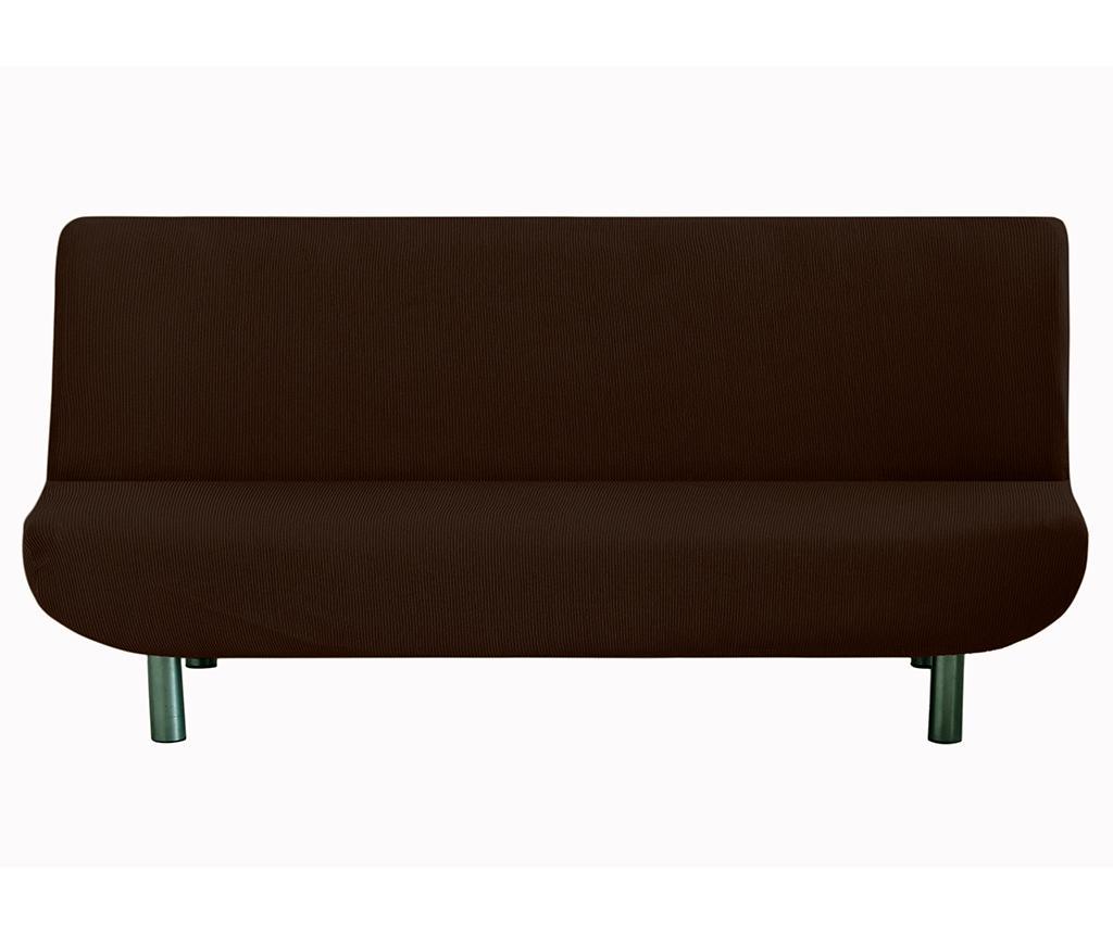 Husa elastica pentru sofa Ulises Clik Clak Brown - Eysa, Maro imagine