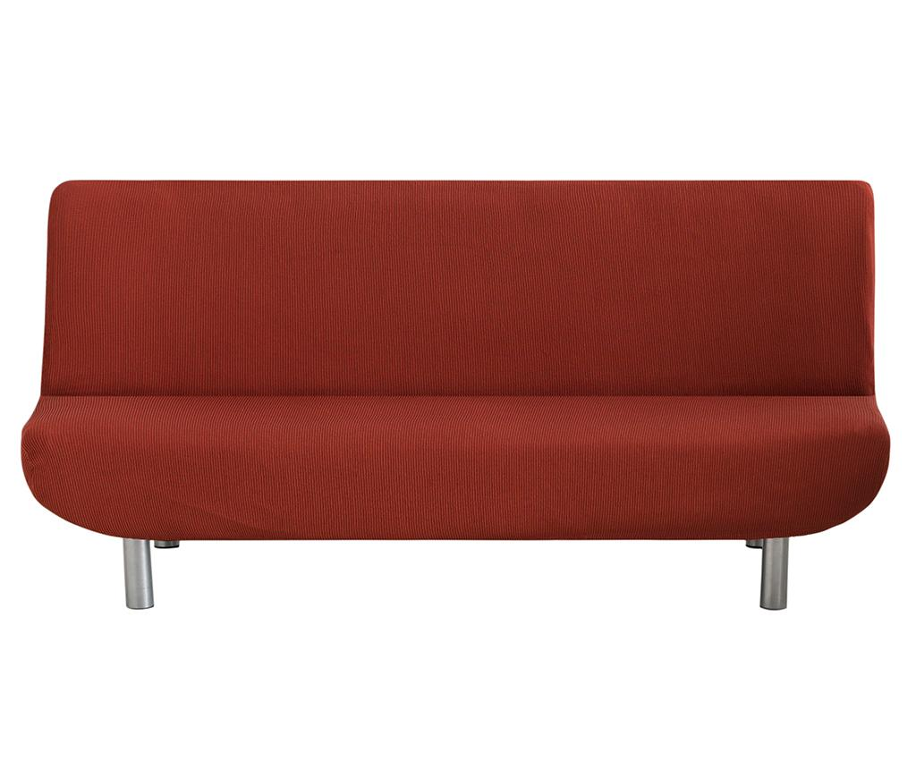 Husa elastica pentru sofa Ulises Clik Clak Dark Orange - Eysa, Portocaliu imagine