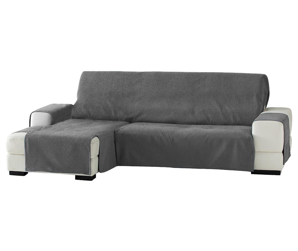 Husa pentru coltar stanga Zoco Grey 240 cm - Eysa, Gri & Argintiu imagine