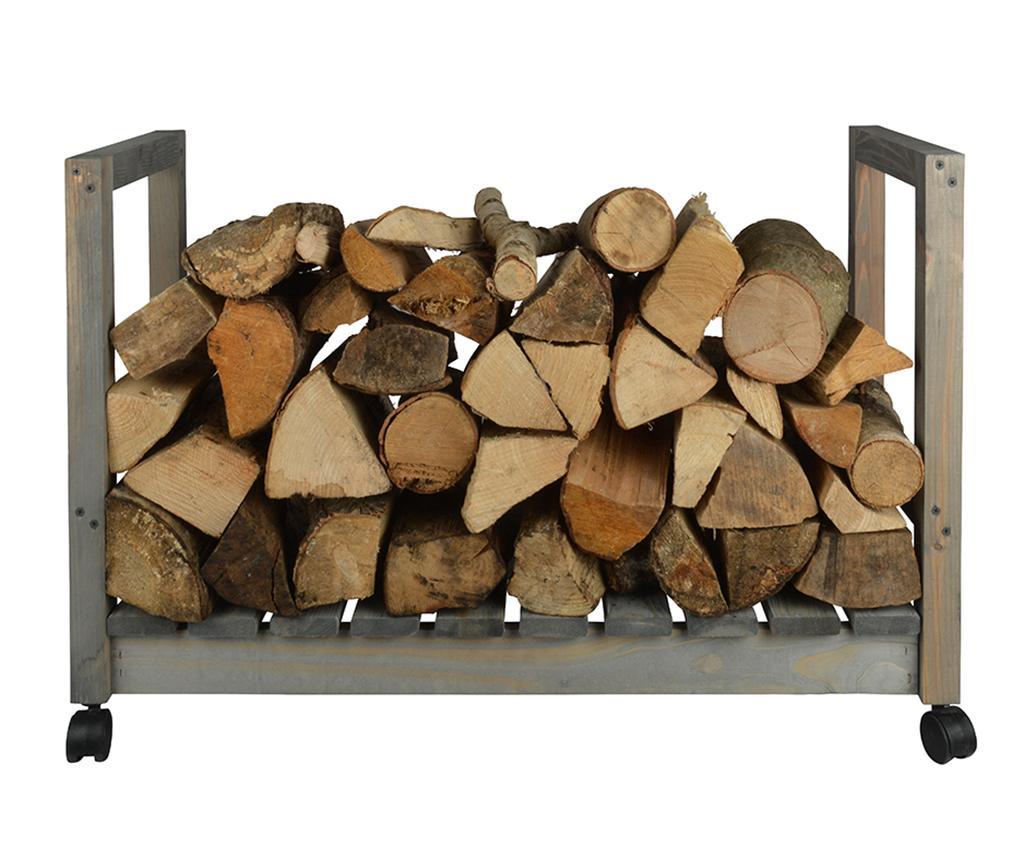 Suport pentru lemne de foc Nick - Esschert Design, Maro