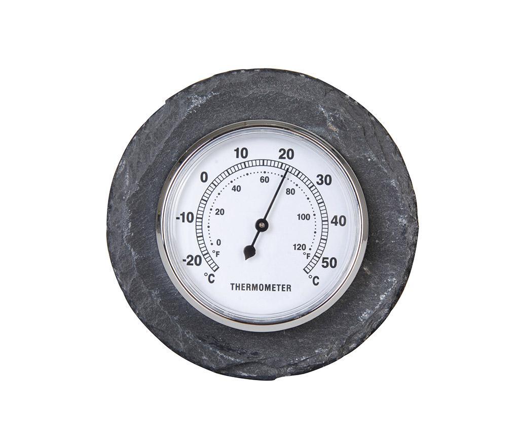 Termometru pentru exterior Heat - Esschert Design, Negru imagine