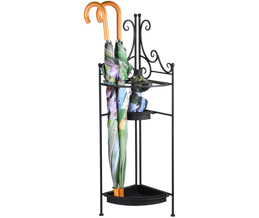 Suport pentru umbrele Filma - Esschert Design, Negru imagine