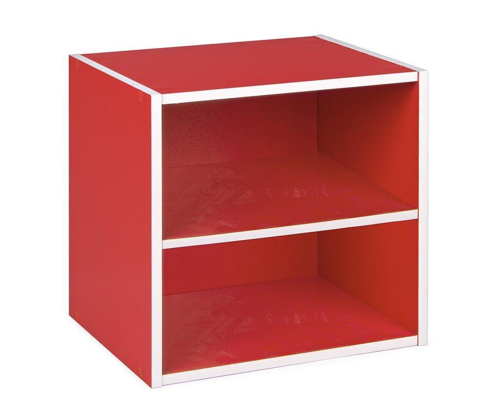 Corp modular Cube Dual Red - Bizzotto, Rosu imagine