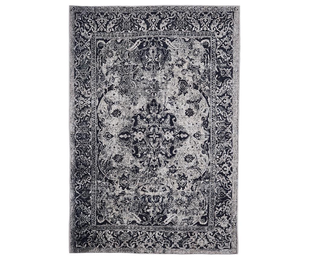Covor Edessa Grey Black 120x180 cm - Floorita, Gri & Argintiu,Negru imagine