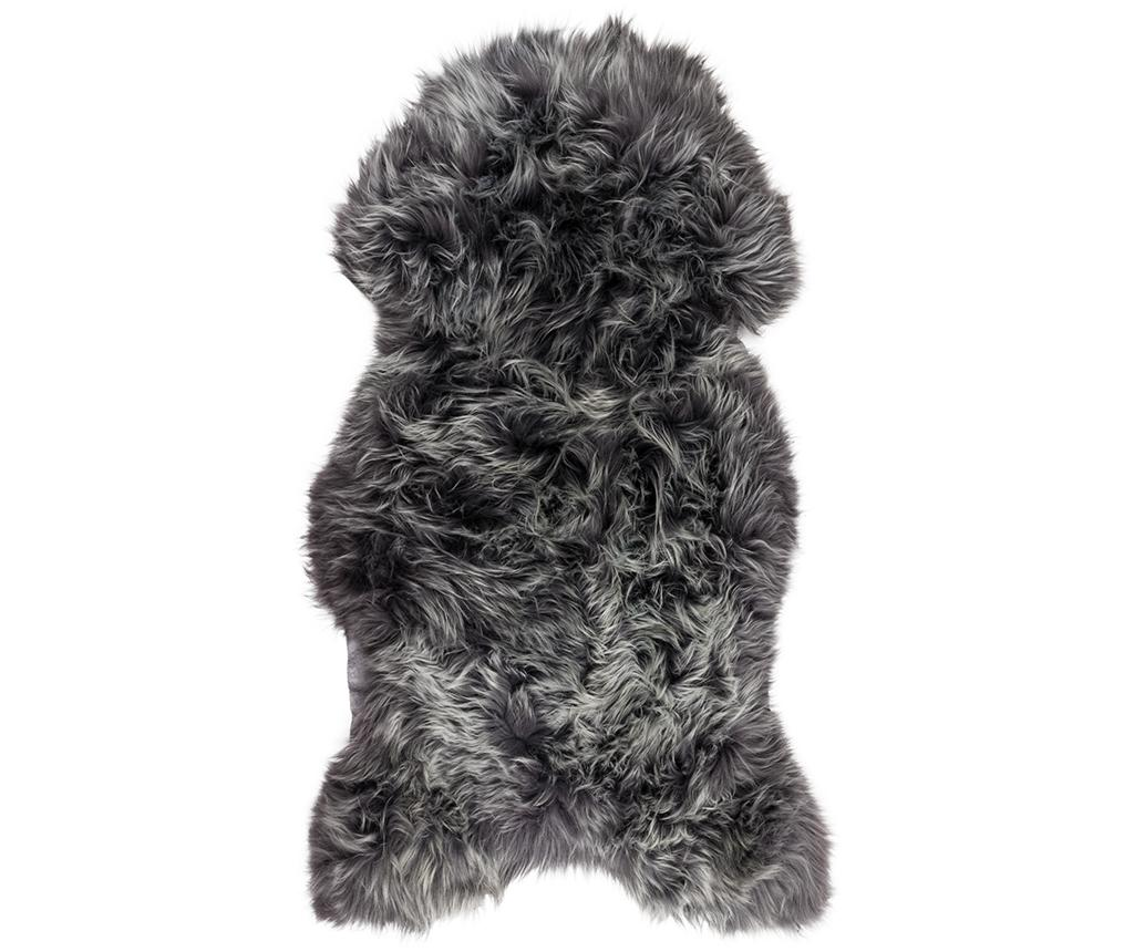 Blana de miel Swedish Anthracite 60x100 cm - Arctic Fur, Negru imagine