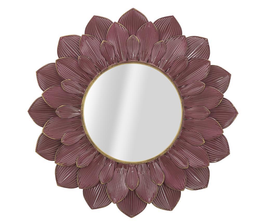 Decoratiune cu oglinda Harvey - Mauro Ferretti, Galben & Auriu