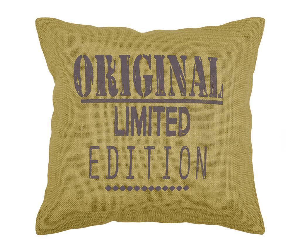Perna decorativa Original Mustard 40x40 cm - Bolzonella, Galben & Auriu,Multicolor