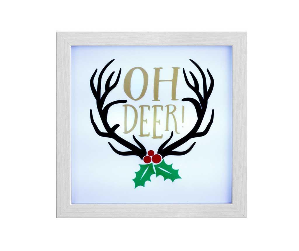 Decoratiune luminoasa Oh Deer