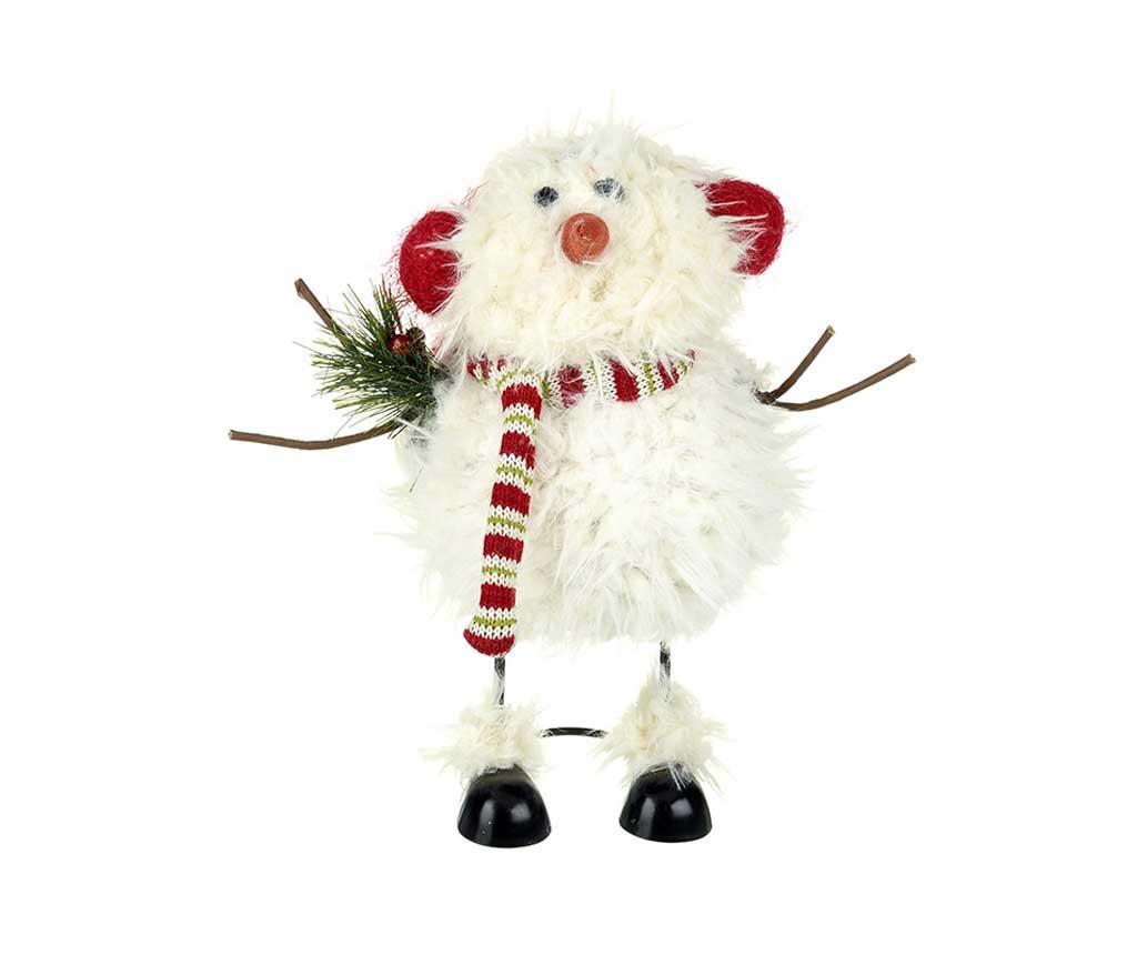 Decoratiune Fulffy Snowman - Heaven Sends, Multicolor de la Heaven Sends