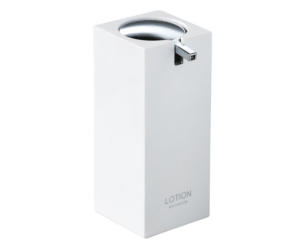 Dispenser sapun lichid Vivian White 180 ml - TFT Home Furniture, Alb imagine