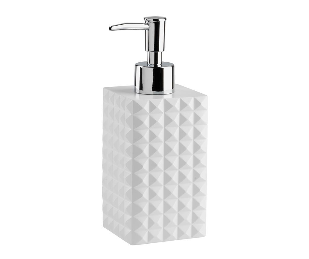 Dispenser sapun lichid Naama White 200 ml - TFT Home Furniture, Alb imagine vivre.ro