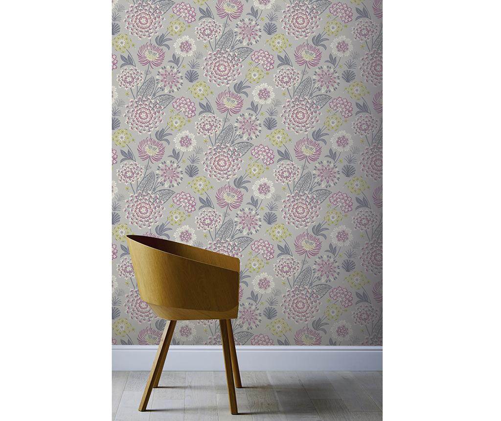 Tapet Vintage Bloom Raspberry 53x1005 cm - Arthouse imagine