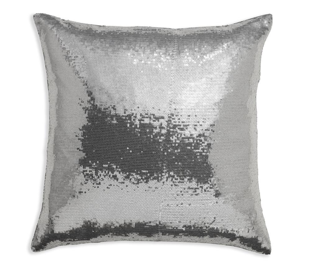 Perna decorativa Platinum Sequin 43x43 cm - Arthouse, Gri & Argintiu imagine