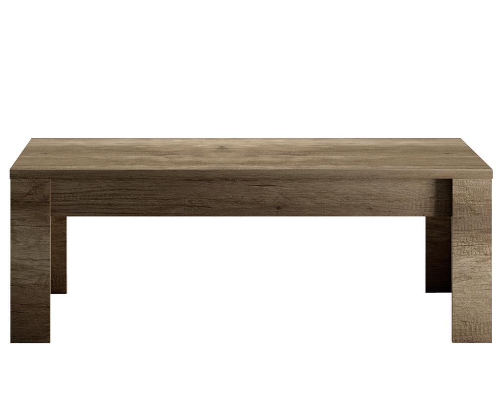 Masuta de cafea Sax - TFT Home Furniture, Maro