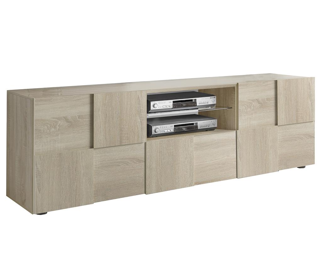 Comoda TV Chequers - TFT Home Furniture, Crem