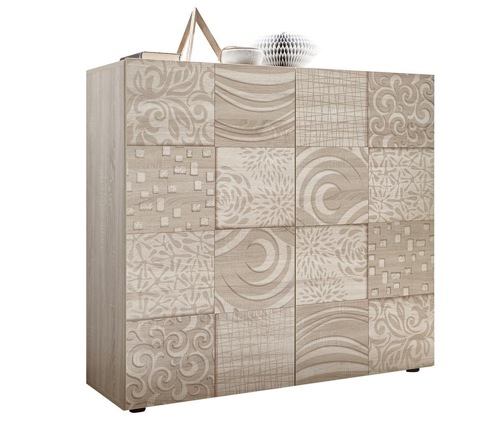 Dulapior Blossom - TFT Home Furniture, Crem