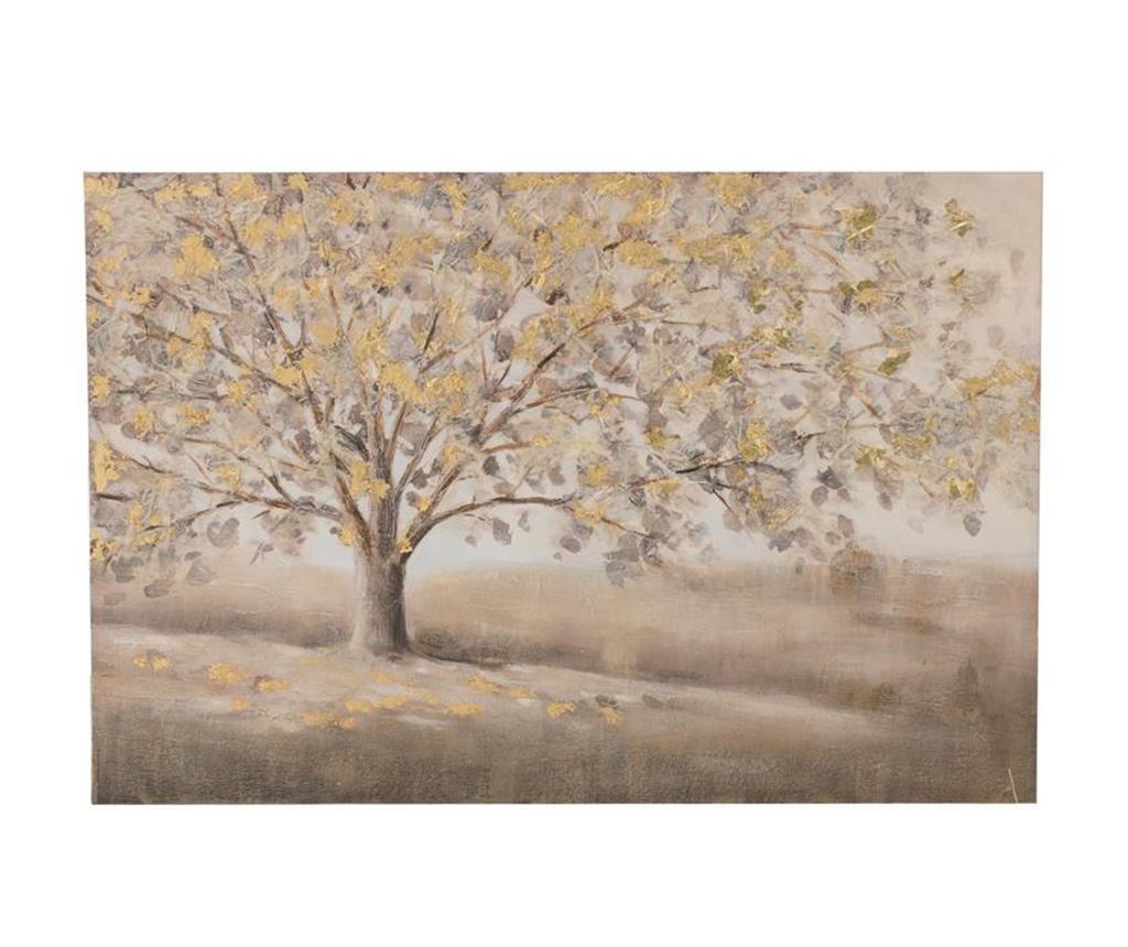 Tablou Supreme Tree 60x90 cm - inart, Multicolor imagine