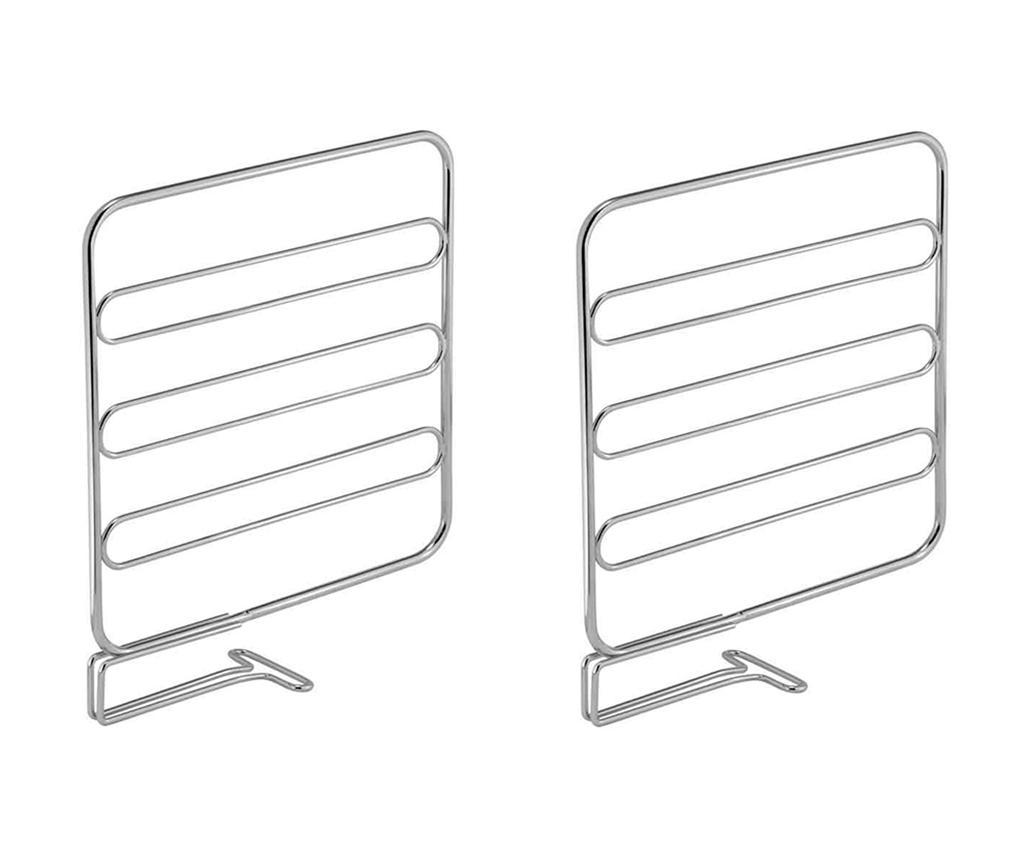 Set 2 separatoare pentru rafturi Classico