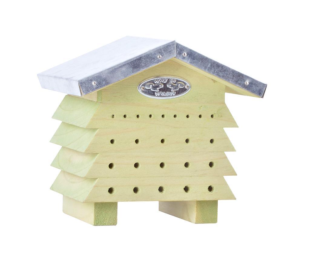 Casuta pentru albine Nixie Kizzy - Esschert Design, Crem imagine