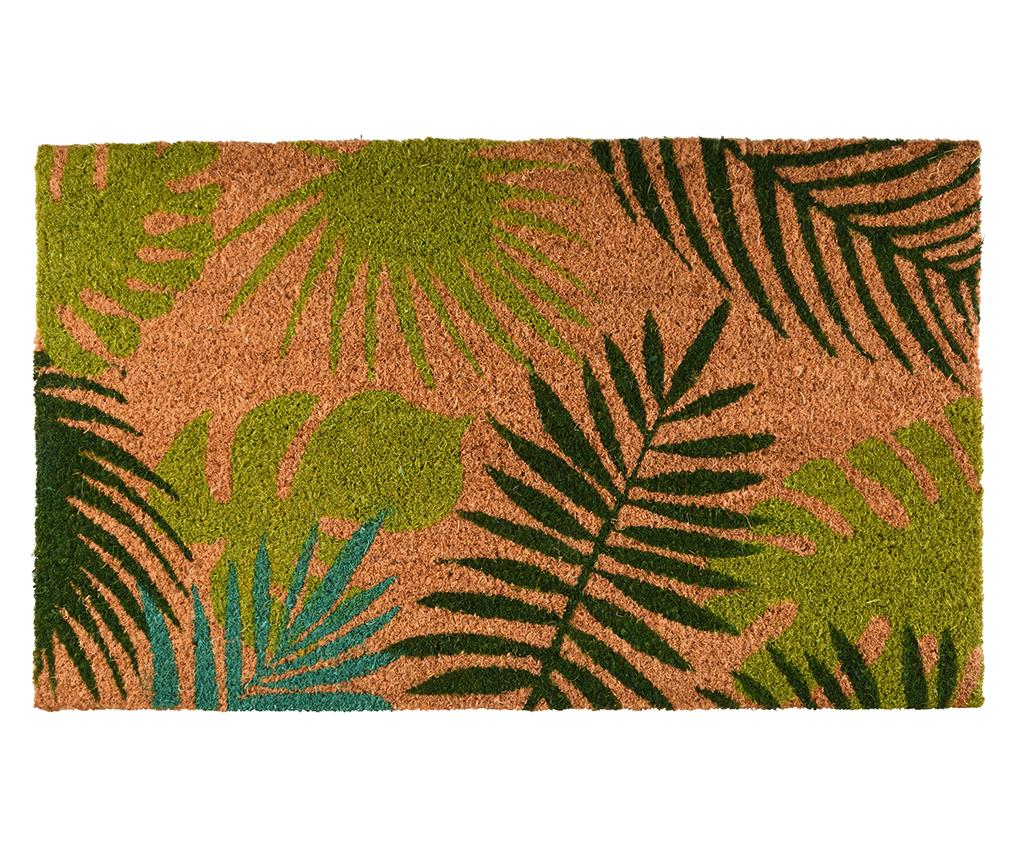 Covoras de intrare Tropical Leaves 45x75 cm imagine