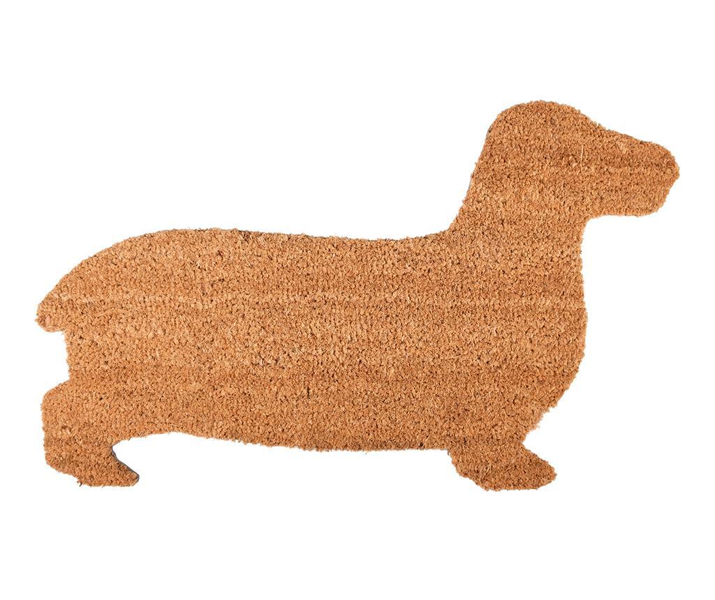 Covoras de intrare Dog 45x75.3 cm - Esschert Design, Maro