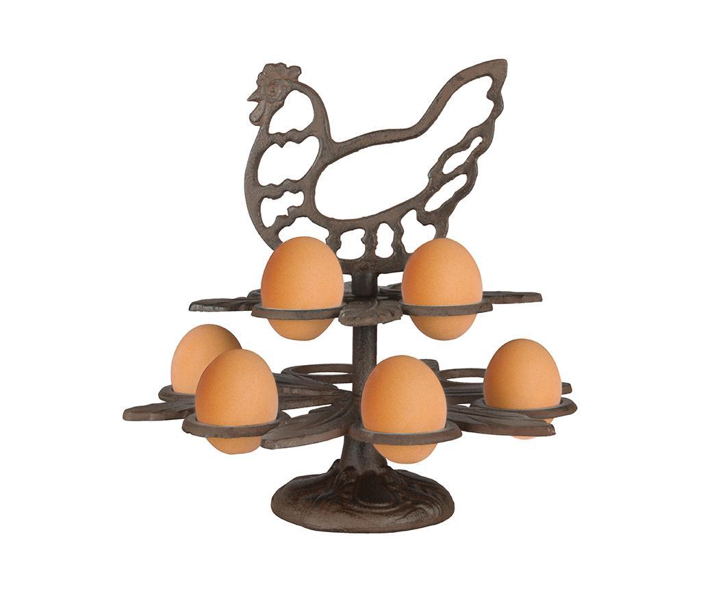 Suport pentru oua Donell - Esschert Design, Maro