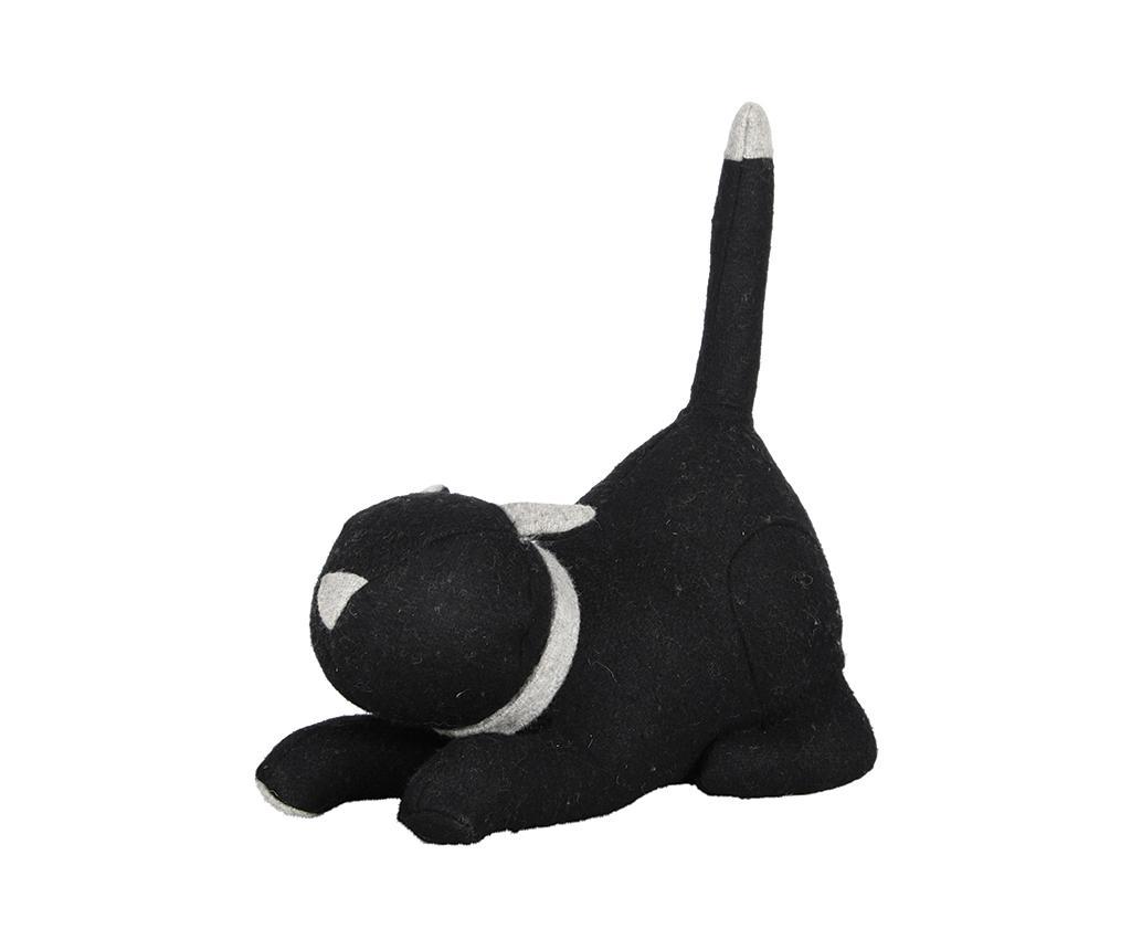 Opritor de usa Cat - Esschert Design, Negru