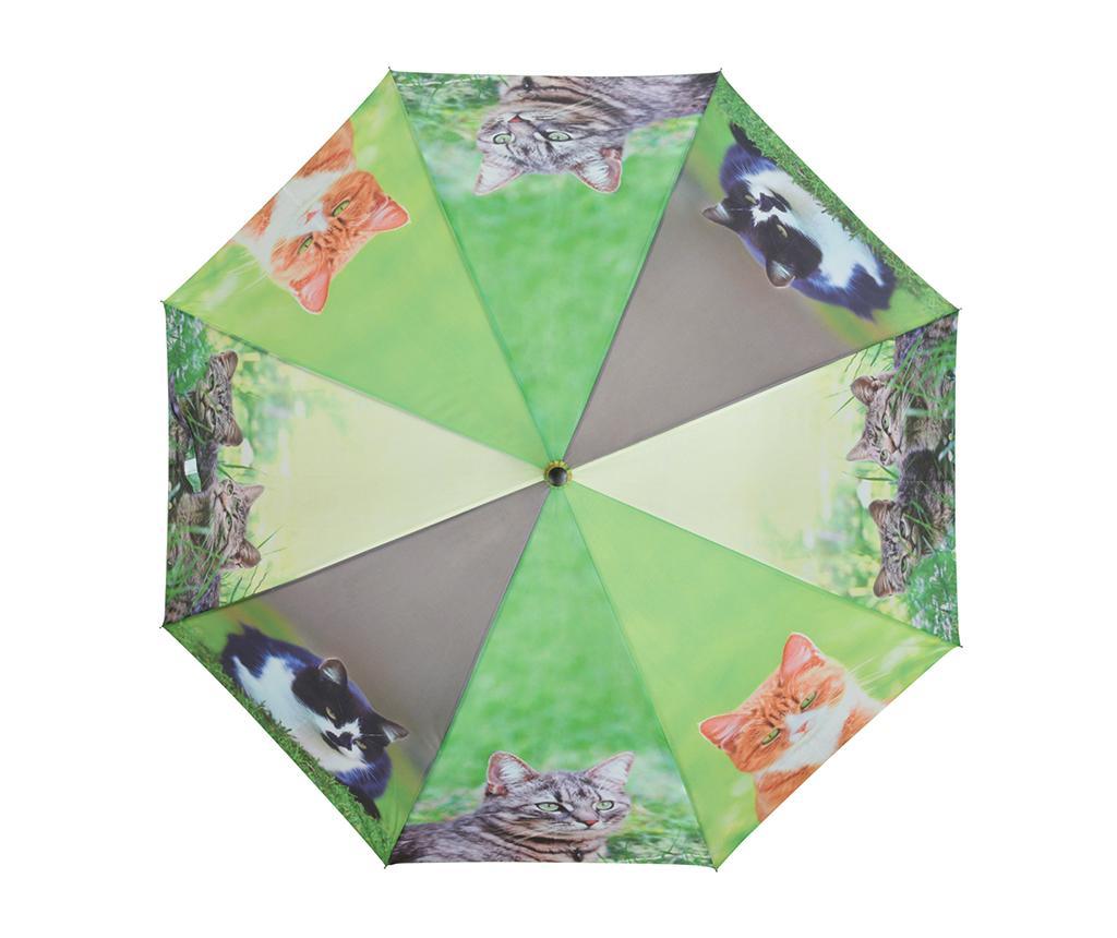Umbrela Cats - Esschert Design, Multicolor imagine