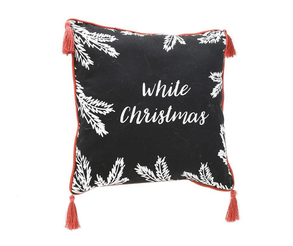 Perna decorativa White Christmas 45x45 cm