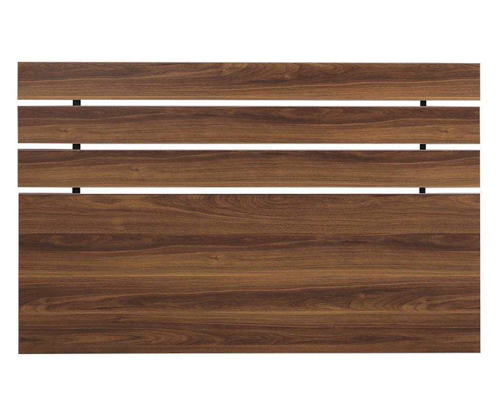 Tablie de pat Fuga Walnut Brown 100x150 cm - Comforty, Maro
