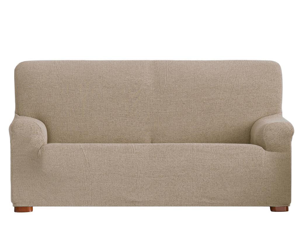 Husa elastica pentru canapea Dorian Tan 180-210 cm vivre.ro