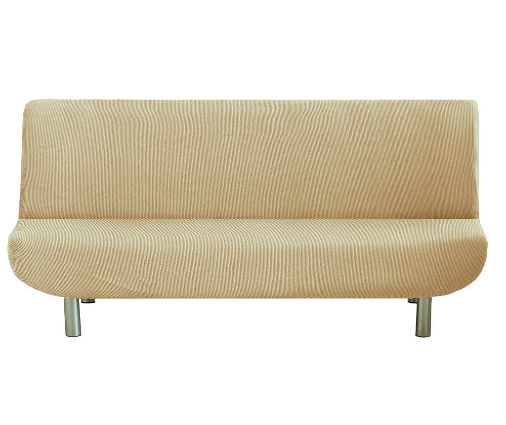 Husa elastica pentru sofa Ulises Clik Clak Beige - Eysa, Crem imagine