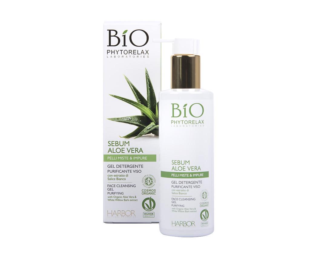 Gel de curatare pentru ten gras Aloe Vera Sebum 200 ml de la Phytorelax