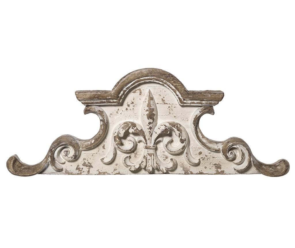 Decoratiune de perete Gianna - L'arte di Nacchi, Alb